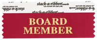 Board Member Ribbons